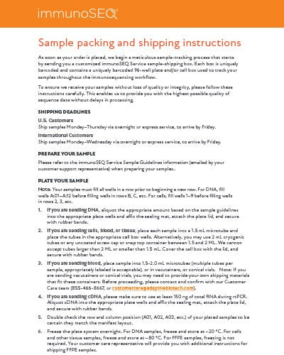Thumbnail-immunoSEQ-Service-Shipping-_-Packing-Guidelines